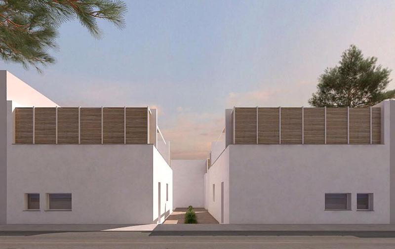 Entrance to Residence Borghetto Mediterraneo