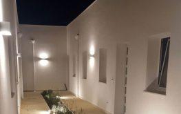 Esterni del Residence Borghetto Mediterraneo